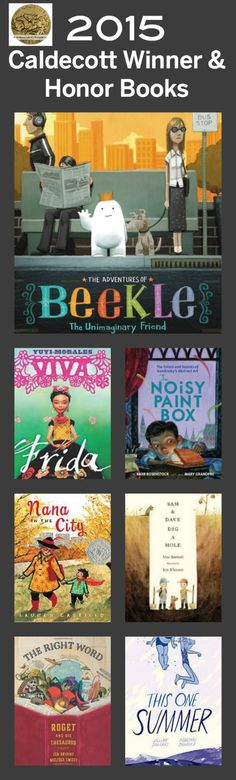 2015 Caldecott Winners!! So excited about these books!