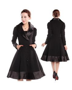 Veronica Coat Black - excuse me while I wipe away the drool.