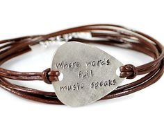 ON SALE Where Words Fail Music Speaks. Personalized by DuoStef
