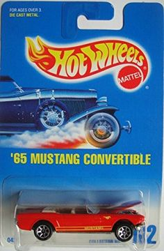 HOT WHEELS '65 MUSTANG CONVERTIBLE #162 Mattel http://www.amazon.com/dp/B00MKKLU9S/ref=cm_sw_r_pi_dp_S-gMwb1GG4MCF