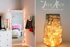 DIY z lampek choinkowych