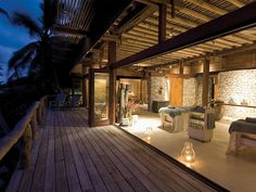 Vacation can be in the architecture, North Island Seychelles