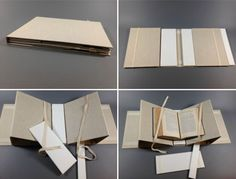 Collapsible Book Cradle tutorial from the Preservation Lab
