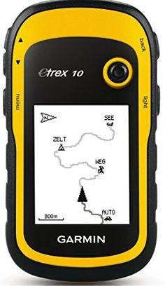 Garmin eTrex 10 Worldwide Handheld GPS Navigator. For product info go to:  https://all4hiking.com/products/garmin-etrex-10-worldwide-handheld-gps-navigator/