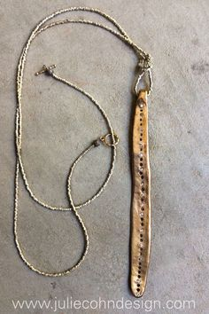 One of our most popular necklaces...the Cirrus Hishi.