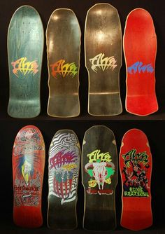 Tony Alva...my first deck was an Alva