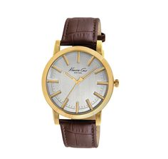 Kenneth Cole Male Dress Watch  KC8043 Gold Analog Sale price. $89.95