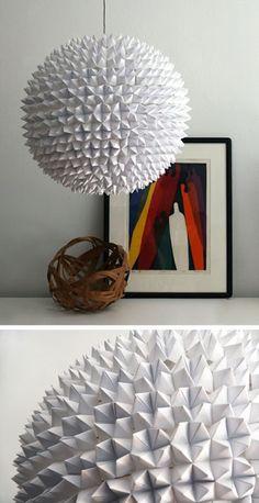 diy-paper-origami-light