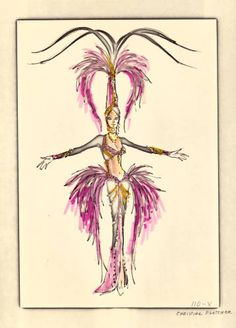 Vintage Vegas costume design by Bob Mackie for Hallelujah Hollywood!, an MGM Grand Hotel production. - See more at: http://digital.library.unlv.edu/objects/showgirls/58#sthash.pC1Qnmir.dpuf