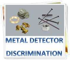 In metal detecting world, the most frequently question is how to use your metal detector discimination?