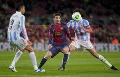 Leonel Messi, FC Barcelona   FC Barcelona, 2 - Málaga, 2.   Copa del Rey. [16.01.13]