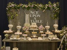 Rustic, Bohemian Chic Dessert Table Wedding Party Ideas | Photo 2 of 42 | Catch My Party