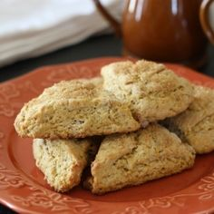 Gluten-free butternut squash scones with pecans. | scones I ...