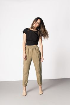 Clyde Work Pant | Elizabeth Suzann