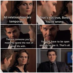 Season 4, Episode 3: The Man in the Outhouse. Follow @bonesscenes on Instagram! #bones #relationships #booth #brennan #bonesonfox #seeleybooth #temperancebrennan #bonestv #sweets #lancesweets #EmilyDeschanel #DavidBoreanaz #JohnFrancisDaley #temporary