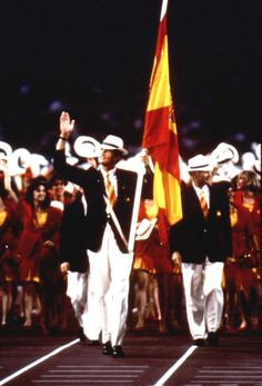 Prince Felipe competed in the 1992 Olympics as a member of the Spanish sailing team, in the same way his father King Juan Carlos did two decades before.