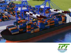 BEST PORT TERMINAL. The new generation of containerships is equipped with the most innovative environmental technologies. These technologies are used to reduce CO2 emissions. Similarly, Tuxpan Port Terminal will feature modern equipment with the latest technology, powered by electricity, which will help to reduce pollutant emissions. #Mexicoport