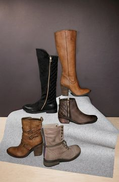 All of these boots for fall, please!