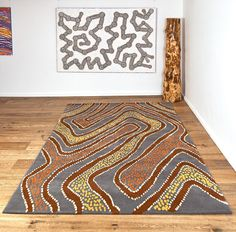 9 Best Australian Aboriginal Rugs Bay Gallery Home Images Country