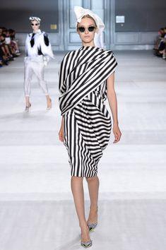Giambattista Valli Fall Couture 2014 - stripes, stripes, stripes