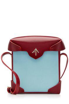 Mini Pristine Leather Shoulder Bag | Manu Atelier