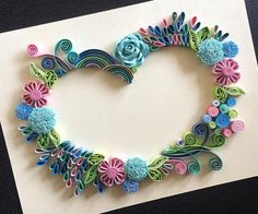 It's the litte things. Quilling Paper Craft, Paper Crafts, Quilled Creations, Paper Artist, Paper Design, Paper Flowers, Origami, Diys, Crochet Necklace