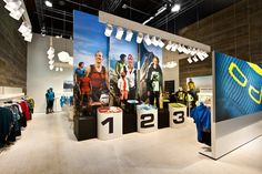 ODLO trade fair stand by Laborrotwang, Friedrichshafen   Germany exhibit design