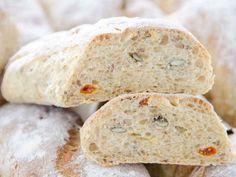 Bagietka z ziarnami Bread, Food Ideas, Brot, Baking, Breads, Buns
