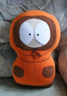 Купить Игрушка-подушка Кенни - рыжий, подушка, персонажи мультфильмов, креативный подарок