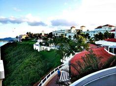View of El Conquistador Resort in Puerto Rico from the Las Brisas wing.