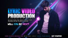 The biggest brands in music today are turning to Lyric Video Production as their source of getting their new singles out to the world. You can get Major lyric Video Production for a fraction of the price!