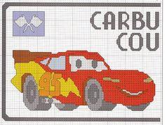 Schema punto croce Cars-1