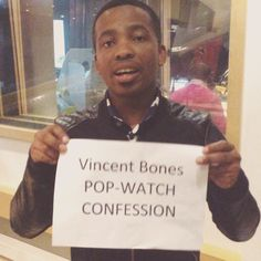 So @idolssa finalist @vincent_bones loves a certain show. Find out which one on his #popwatchconfession #IdolsSA #tvaddict