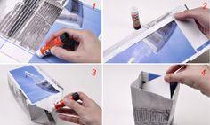 Come fare una shopper di carta | Bricolage - Bricoportale