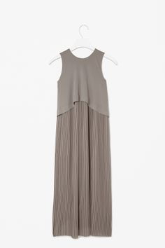 Layered pleat dress by COS