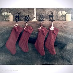 """Jeremy Renner's image - """"For some the little ones...  #badsanta #stockings #moutain #mantle"""" on WhoSay"""