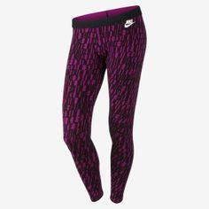 Nike Leg-A-See Allover Print Women's Leggings #runningtights #printedrunningtights