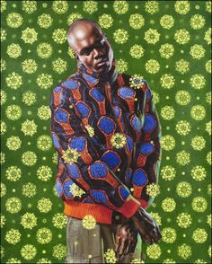www.cewax aime les vêtements hommes ethniques, Afro tendance, Ethno tribal Men's fashion, african prints fashion - Kehinde Wiley