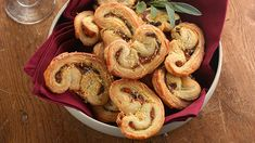 Pesto & Red Pepper Palmiers