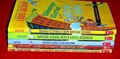 5 Chapter Books Sideways Stories Wayside School Complete Series Louis Sachar