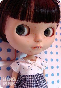 OOAK Custom Blythe Doll  Rosie Red Encore by StingPink on Etsy, $350.00