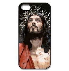 Jesus theme background cover iPhone 5 hard shell case Christian faith by padcaseskingdom