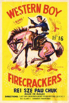 Western Boy Firecrackers  #fireworks