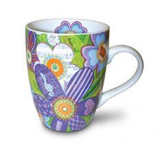 Mug - Believe Musical Flowers Psalm 136 By: Divinity