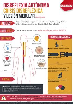 Disreflexia autónoma y lesión medular