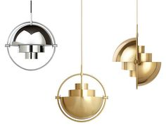 Maison + Objet Paris 2016 The Multi-Light was first designed by Louis Weisdorf in 1972, but has recently made its re-debut through GUBI.