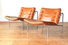 The Modern Warehouse - Archive - Cognac Kyoto Chairs by Martin Visser