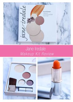 I received my Jane Iredale Pure & Simple Palette in my Influenster Vox Box this month, and could not wait to try it! Check out my Jane Iredale Pure & Simple Makeup Kit Review on the blog!