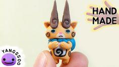 폴리머클레이로 요괴워치 황멍이 만들기 / Yokai Watch Komajiro Polymer Clay Tutorial