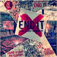Slavery still exists. Join us and raise your voice with a red ❌ for the 27 million trapped in slavery today. #enditmovement www.enditmovement.com